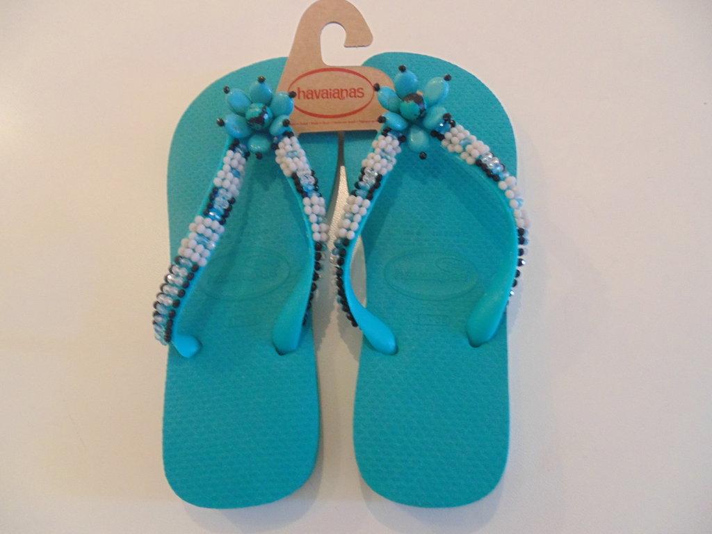 Havaianas flip flops ricamata n.38