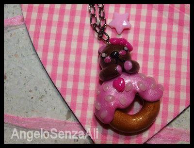 Bear&Donuts Necklace