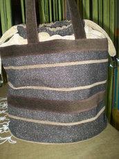 borsa tonalità marrone