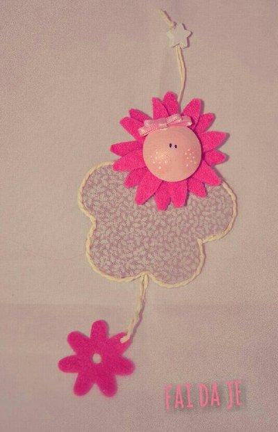 Bomboniera a fiore per bambina