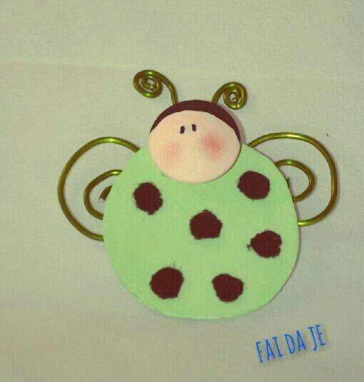 bomboniera coccinella verde