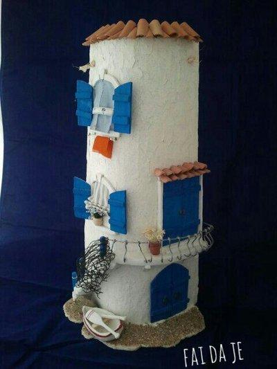 tegola decorata marittima