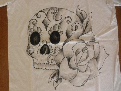 T-Shirt Mexican Skull