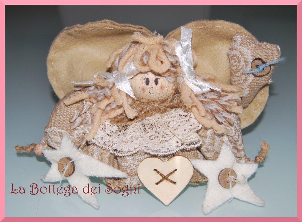 Bambolina angioletto - pupazzo