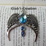 collana con DIADEMA di CORVONERO Harry Potter diadema di Priscilla Corinna  Corvonero Horcrux collana hogwarts