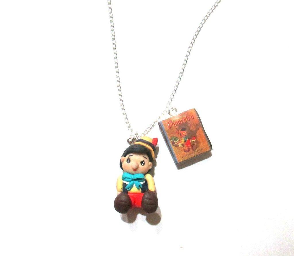 Pinocchio collana