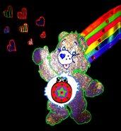 t-shirt orsetto del cuore