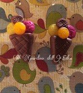orecchini gelato