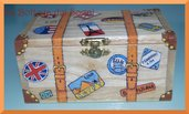 Scatoletta multiuso - cofanetto valigia