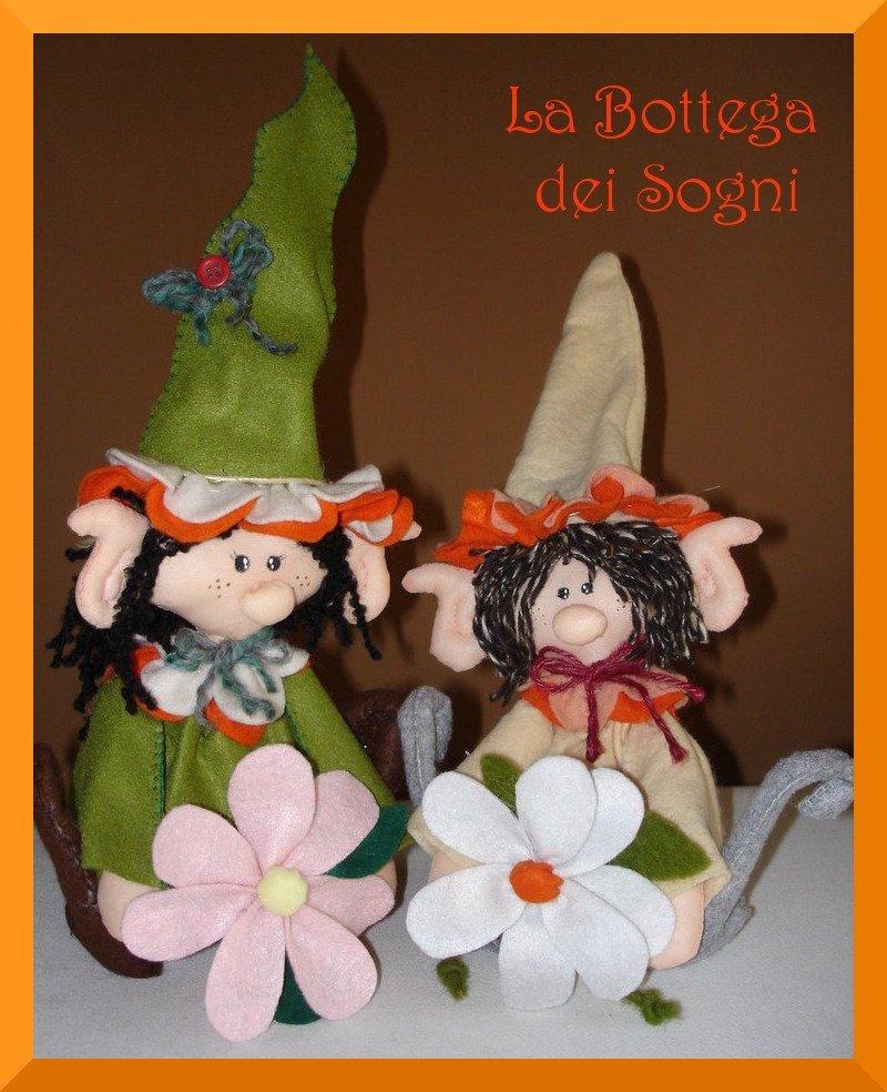 Elfi - pupazzi in feltro