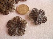 Filigrana bronzo fiore 5 petali
