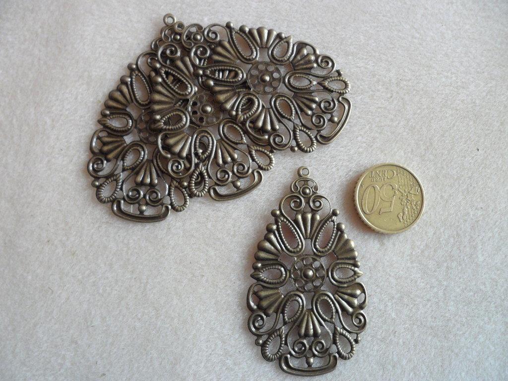 Filigrana a goccia in bronzo