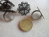 Base per anello in bronzo
