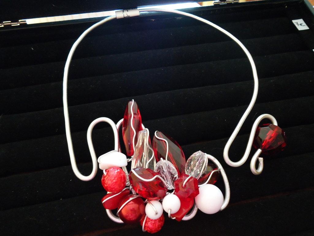 Collana Wire Rosso Valentino