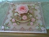 bomboniere centro tavola marmo rosa