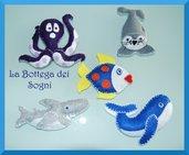 Animaletti marini - calamita - magnete