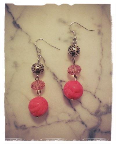 Orecchini pietre e perle