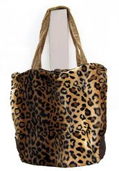 Shopper Animalier ecopelliccia