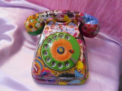 Telefono decoupage fantasy