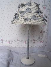 Lampada stile shabby