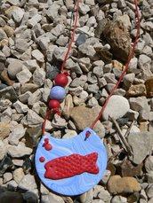 sautoir les petits pois sont rouges