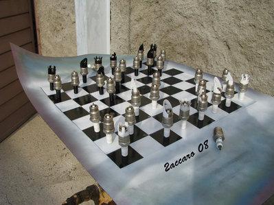 Scacchiera 3D-FERNANDO ZACCARO