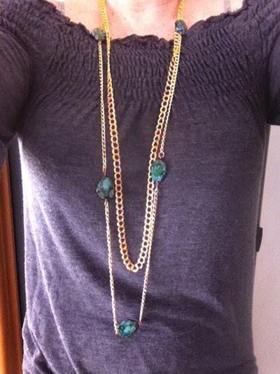 collana oro e argento