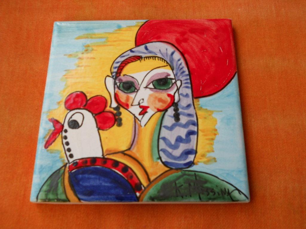 Piastrella in ceramica