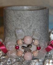 Candela diametro 10 cm, altezza 10 cm colore grigio marmo