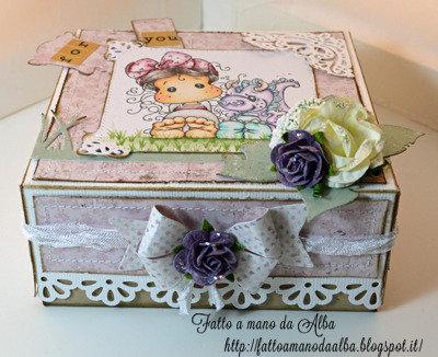 SCATOLA PORTA REGALO (gift box)