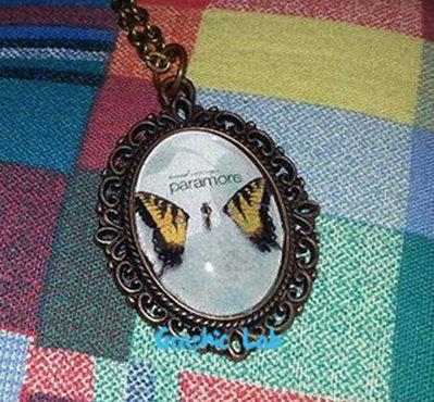 Collana Cammeo Personalizzato in Bronzo dei Paramore
