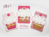 Invito Cupcake personalizzato