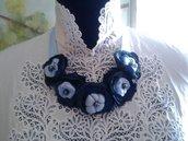 Collana blu cina