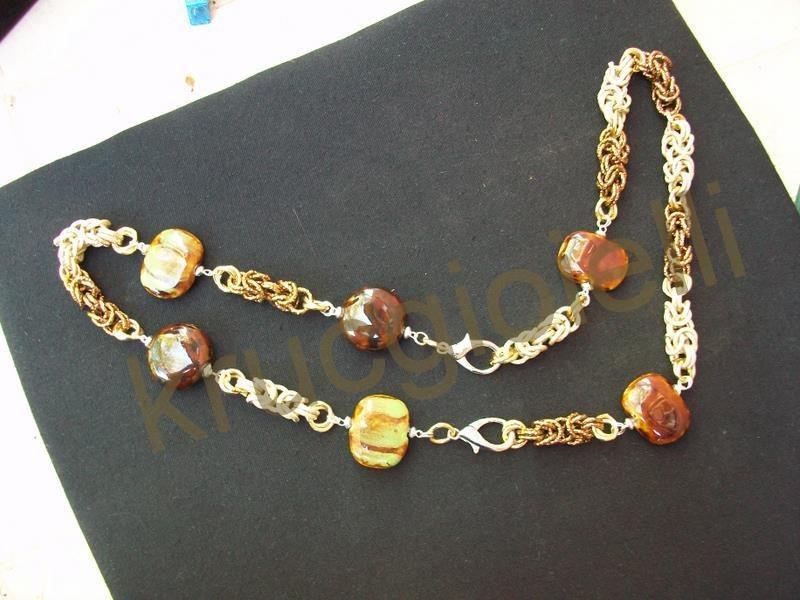 COLLANA CHAINMAILLE