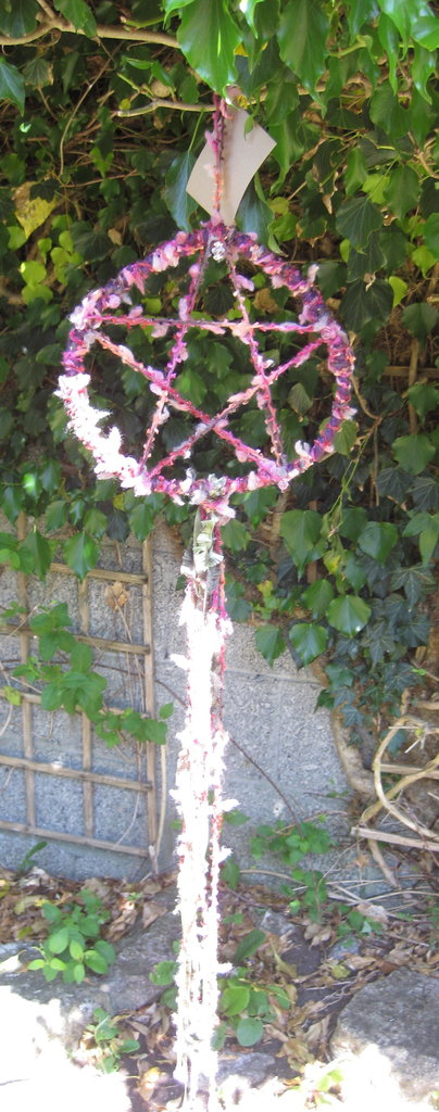 PROTECTIVE PENTACLE Pink