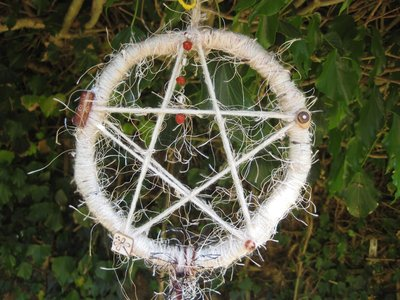 PROTECTIVE PENTACLE White