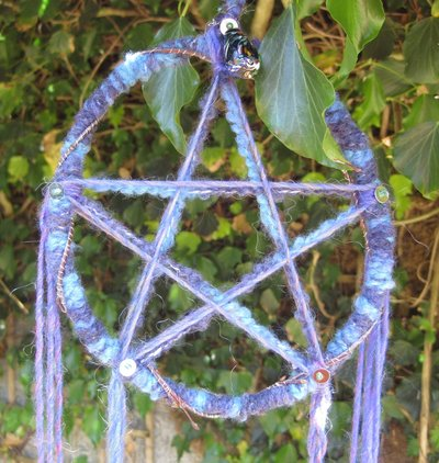 PROTECTIVE PENTACLE Blue