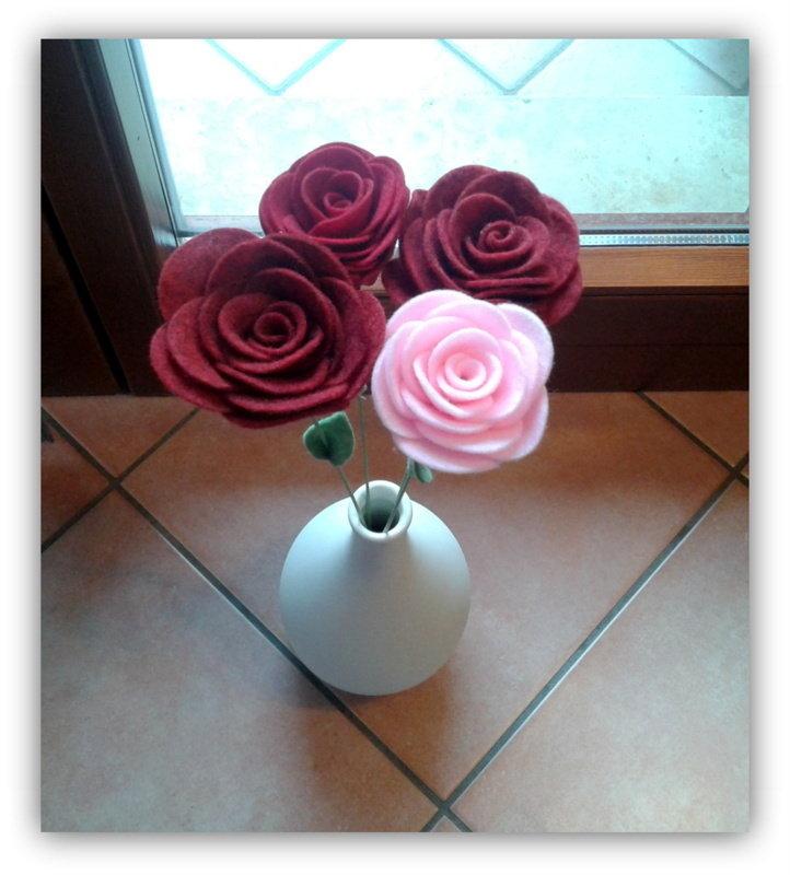 Rose a gambo lungo