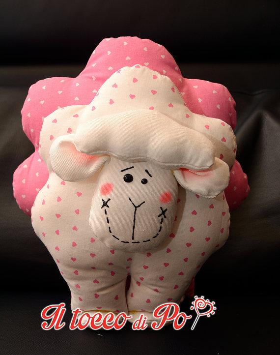 Pecorella fermaporta fermafinestra decorativa