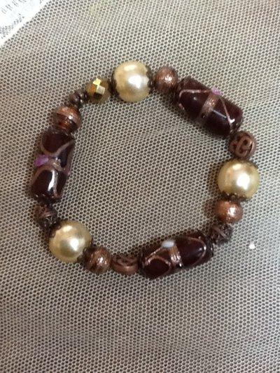 Bracciale in perle di vetro
