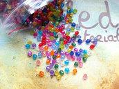100 Cristalli multicolor 4mm