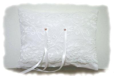 Cuscino Porta Fedi Matrimonio - Cuscino Portafedi - Cristalli Scintillanti - Su ordinazione