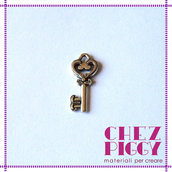 1 charm CHIAVE - Argento