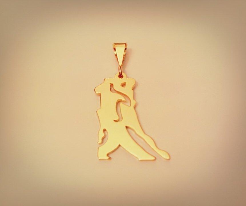 Ciondolo tango Enganchados oro giallo Adornos