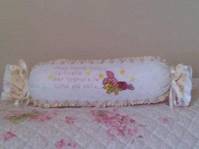Cuscino caramella neonata