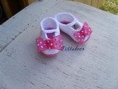 Ballerine estive per bebè (rosa)