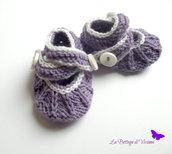 Scarpe Mari Janes neonata-Ballerine neonata  disponibili in diversi colori e taglia