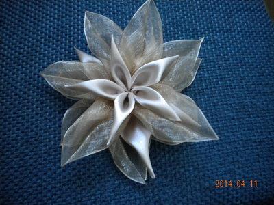 fiori  di organza