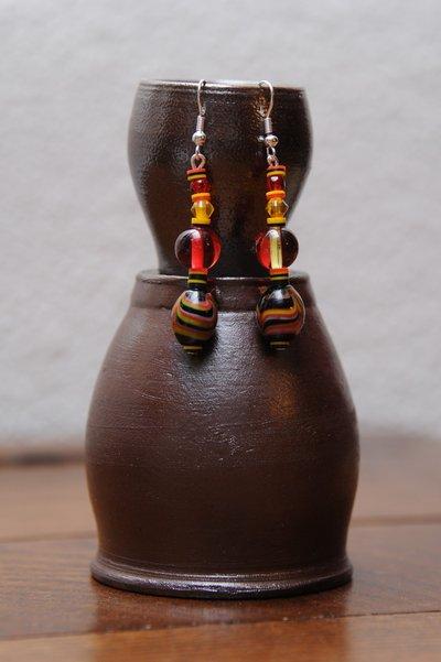 Orecchini Perle del Senegal
