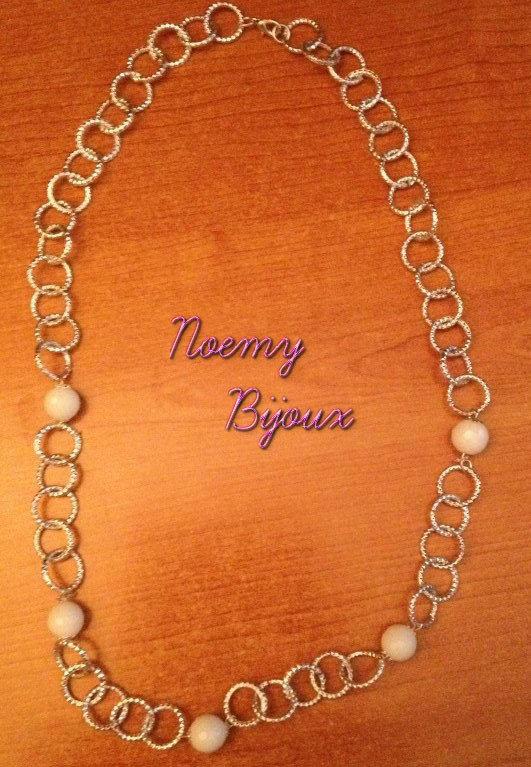 collana perle bianche